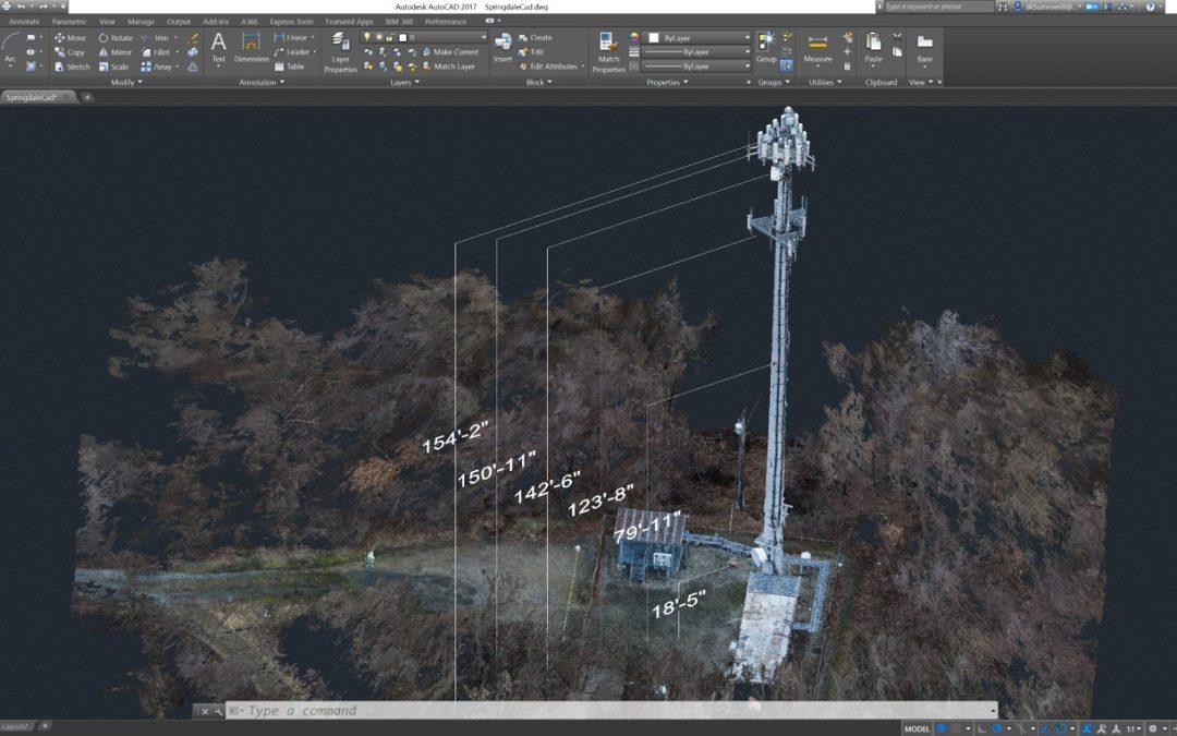 Eye-bot Aerial Solutions Creates Highly Accurate 3D Vertical Monopole Models