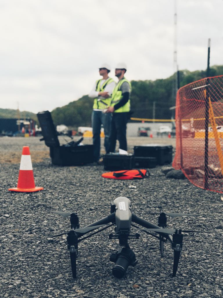 Eye-bot Aerial Solutions Drone in the Field Capture